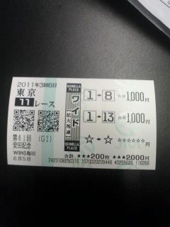 2011 安田記念